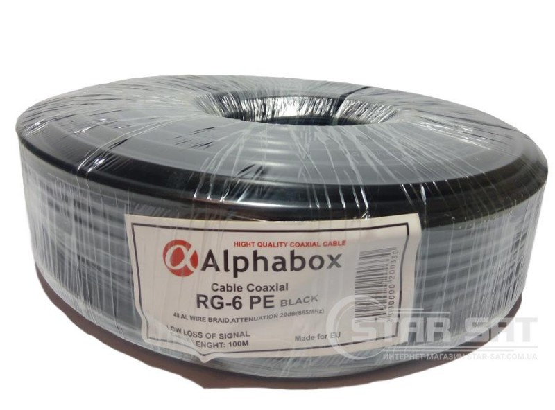 ALPHABOX F660 100m Black