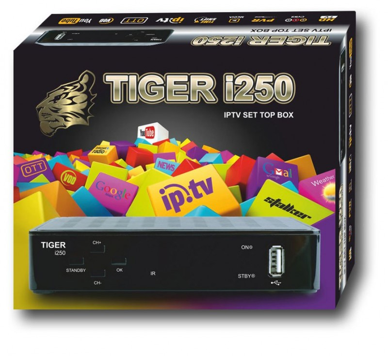 Tiger i250 IPTV SET TOP BOX