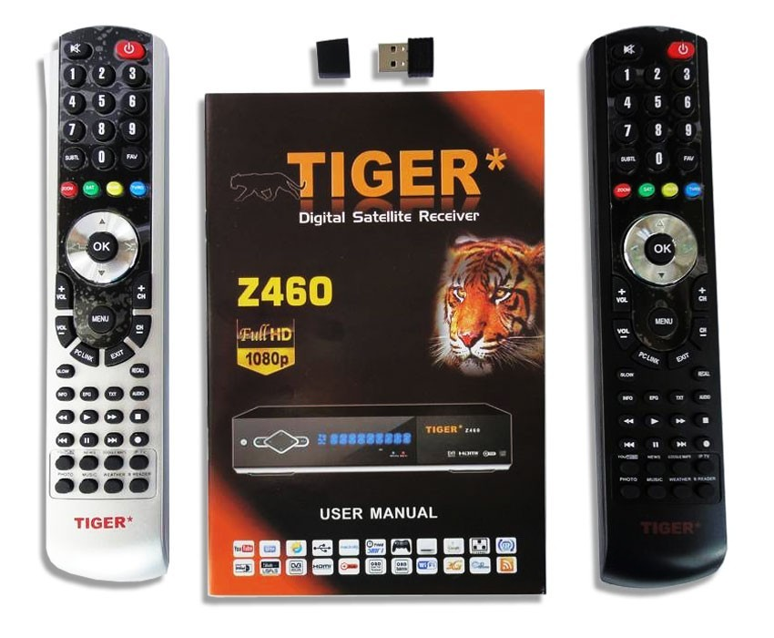 flash tiger z460